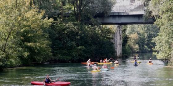 Gita sul fiume Noncello in canoa (© Comune di Pordenone)