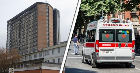 L'uomo è stato portato all'ospedale Cto di Torino (© Diario di Torino)