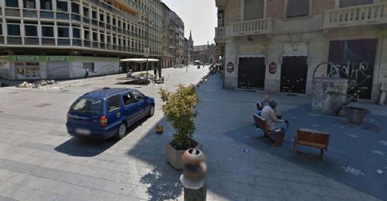 Il luogo in cui è avvenuto l'accoltellamento (© Google Street View)