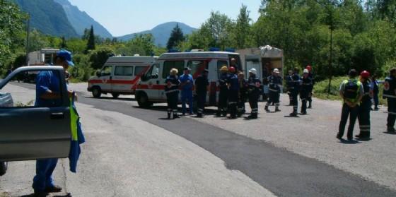 Terremoto: esercitazione a Venzone con Austria e Slovenia (© Protezione Civile Fvg)