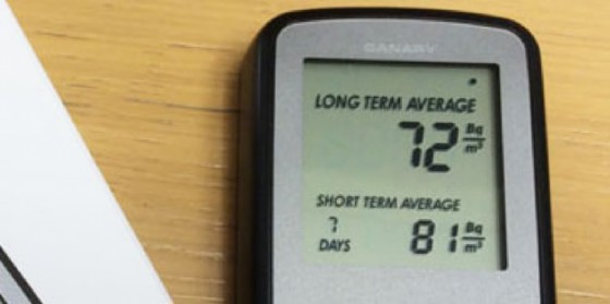 Sarà misurata la presenza di Radon in 1.000 famiglie del Fvg (© Radon)