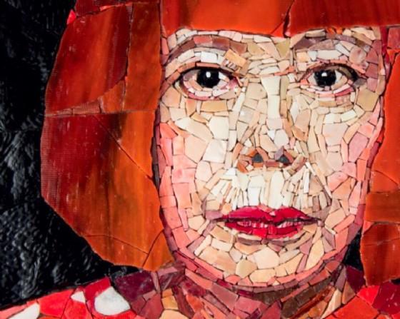 Uno dei dipinti di 'ICONS OF ART' (© Comune di Pordenone)