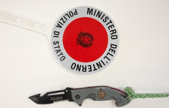 L'arma sequestrata (© Polizia di Stato - Biella)