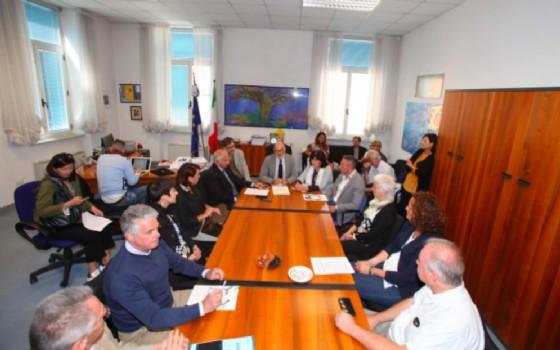 Un momento della conferenza stampa (© Comune di Trieste)