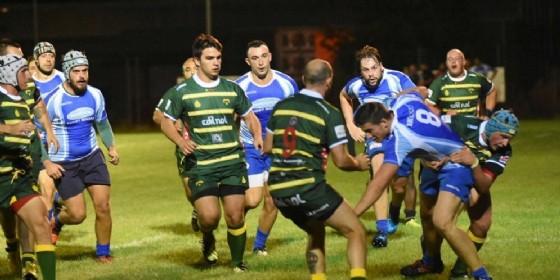Un momento della partita di ieri (© Biella Rugby)
