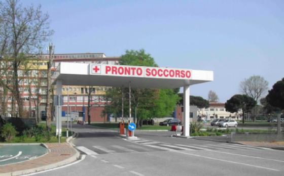 Il pronto soccorso dell'ospedale di Chioggia