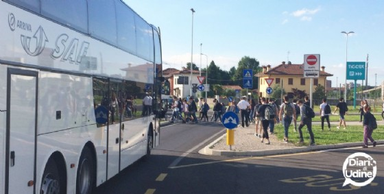 Terminal studenti: in arrivo un nuovo semaforo a chiamata pedonale (© Diario di Udine)