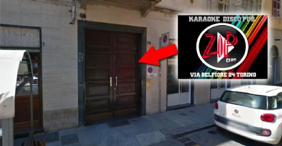 Il portone del circolo privato Zip Club (© Google Street View)