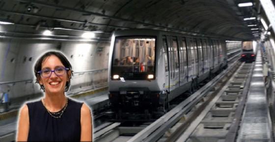 Maria Lapietra ha fatto chiarezza sulla situazione sicurezza nei convogli della metropolitana (© Comune di Torino)