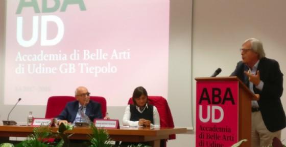 Accademia di Belle arti: apertura con Sgarbi e Seracchiani (© Serracchiai)