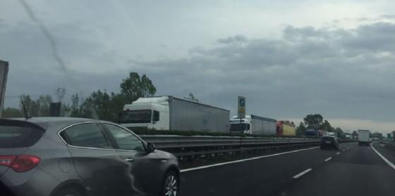 Autostrade: 11 chilometri di coda in A4 (© G.G.)