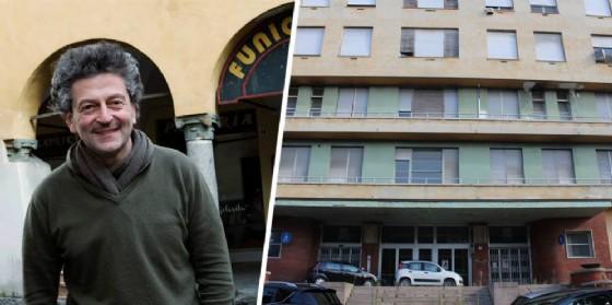 Possemato (foto Ceretti) ed il vecchio ospedale (© Diario di Biella)
