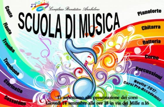 Riparte la stagione di musica (© Scuola di Musica del Complesso Bandistico Arcobaleno)
