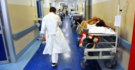 Bambina ricoverata nell'ospedale di Legnano (© ANSA)