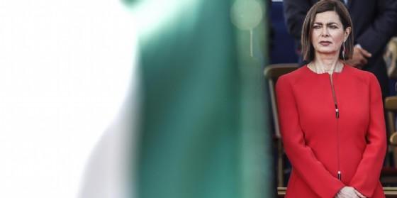 La presidente della Camera Laura Boldrini