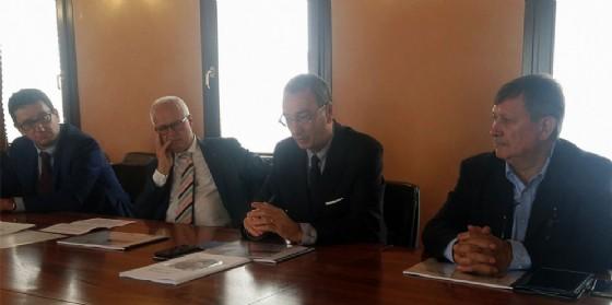 Sergio Bolzonello (Vicepresidente Regione FVG e assessore Attività produttive, Turismo e Cooperazione) alla presentazione dell'indagine sul terziario nel secondo trimestre 2017 in FVG