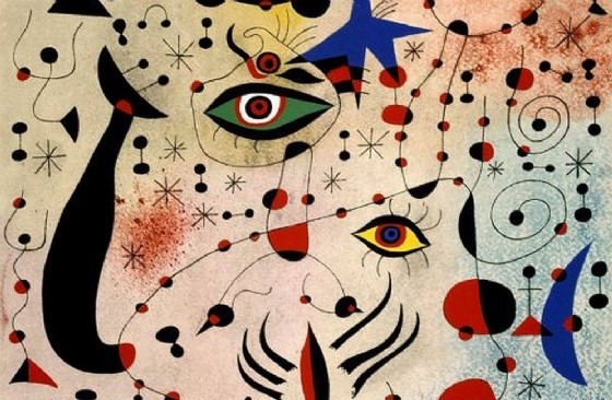 A Torino le opere del cuore di Joan Mirò (© «Sogno e colore»)
