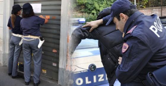 La polizia ha chiuso il negozio