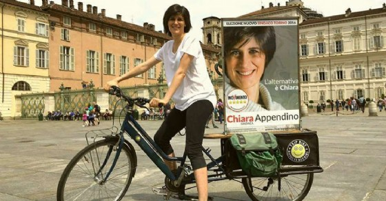 Chiara Appendino, sindaca di Torino (© Bici Tv)