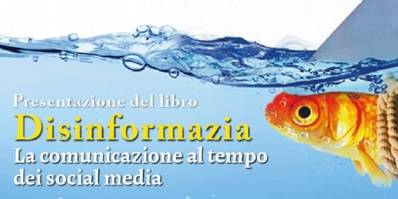 'Disinformazia': Francesco Nicodemo presenta il suo nuovo libro (© Marsilio editori)