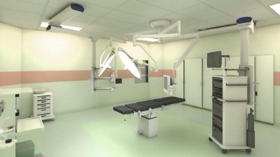 Infermiere resta folgorato in sala operatoria (© Ospedale Ud)