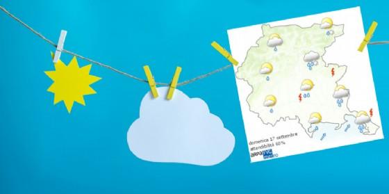 Che tempo farà domenica 17 settembre? Ve lo dice l'Osmer Fvg (© Omer Fvg)