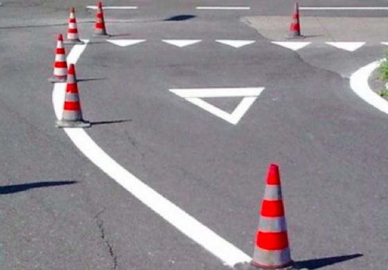 Cominciano i lavori sulla segnaletica stradale (© Diario di Trieste)