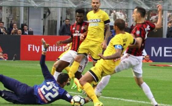 Milan-Udinese 2-1 (© Udinese)