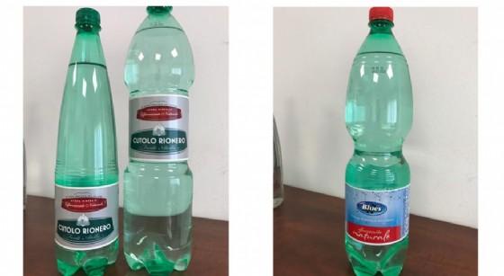Il ministero richiama otto lotti di acqua minerale: