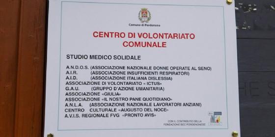 A Pordenone nascono il centro di volontariato e lo studio medico solidale