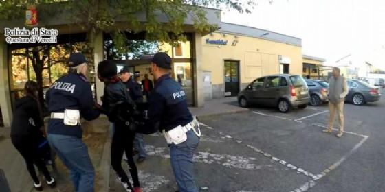 Operazione «Alto Impatto» in stazione a Santhià