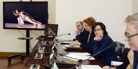 Sara Vito alla presentazione della New Italian Dance Platform (© Foto Arc Montenero)