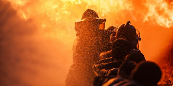 Rinvenuto il corpo di un uomo carbonizzato in un incendio