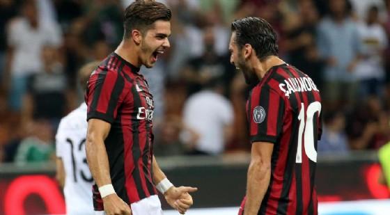 Milan-Rijeka 3-2: difesa rossonera da horror ma Cutrone salva Montella