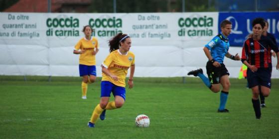 Tavagnacco contro il Sassuolo per la prima di Campionato (© Upc Tavagnacco)