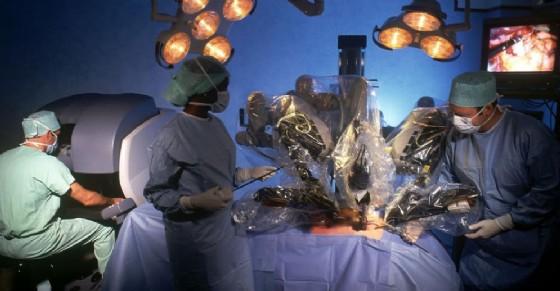Robot Da Vinci (© Centro di Chirurgia Robotica)