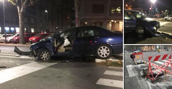 L'incidente in corso Francia (© Silvio Viale)