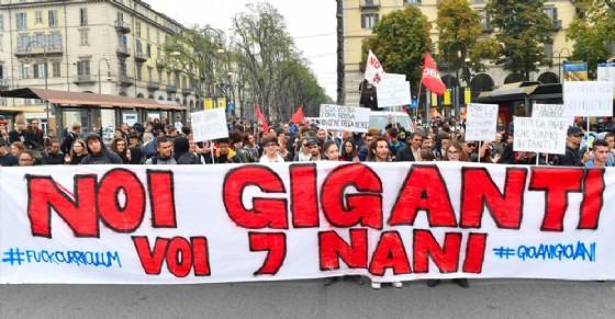 Manifestazione contro il G7