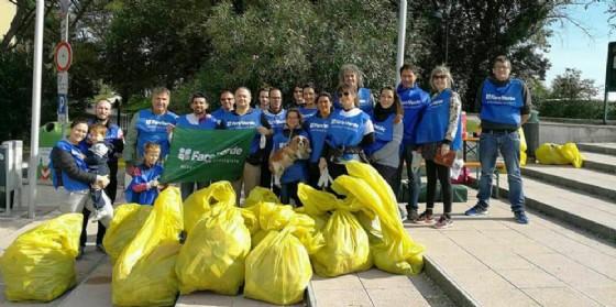 """""""Dove passano i nuovi Barbari"""", l'iniziativa di sensibilizzazione sociale a Monfalcone (© Fare Verde Gruppo 'P.Colli' Monfalcone)"""