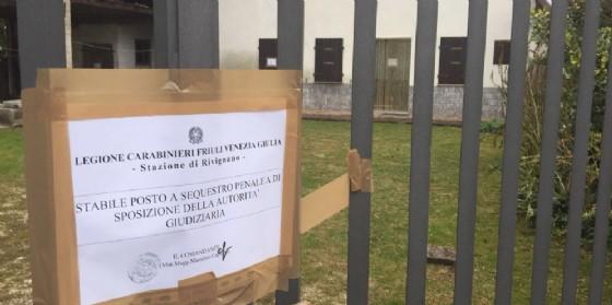 Giallo di Santa Marizza: villa sotto sequestro e analisi sull'acqua (© G.G.)