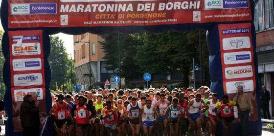 Presentata la 12a edizione della Maratonina dei Borghi Città di Pordenone (© Comune di Pordenone)