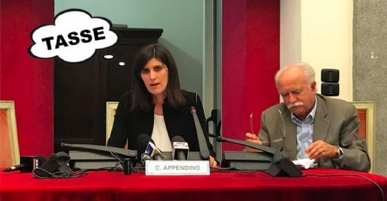 La sindaca Appendino con l'assessore Rolando (© Diario di Torino)