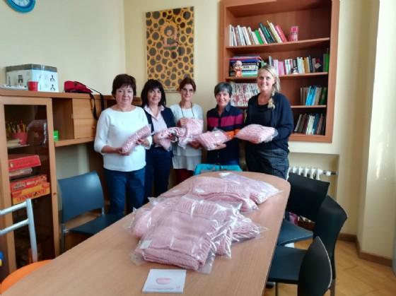 Foto ufficiale durante la consegna (© Comune di Biella)