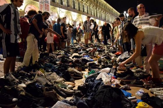 Incidenti del 3 giugno in piazza San Carlo (© Diario di Torino)