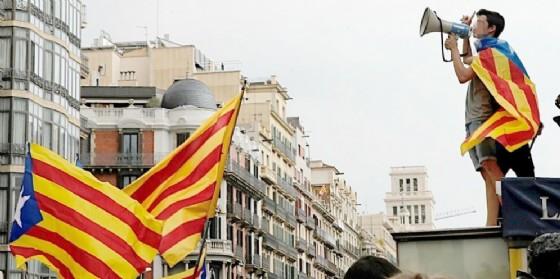Manifestazione per l'indipendenza della Catalogna