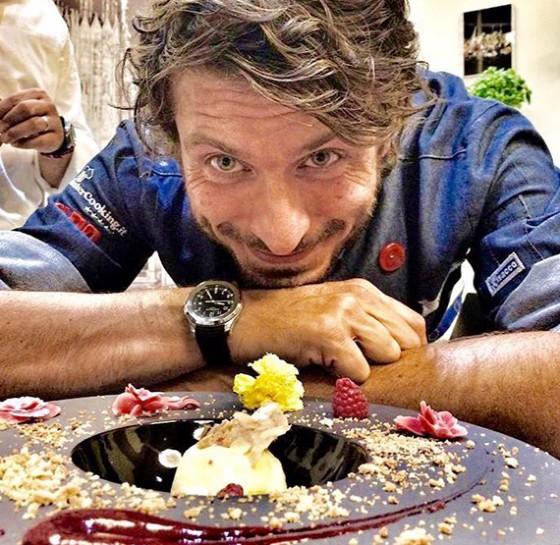 Massimiliano Scotti, miglior gelatiere d'Europa con il suo celebre gelato all'azoto