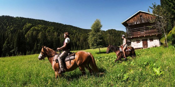 Weekend a cavallo e a passeggio lungo la canaletta del Ruial (© Casa Zanussi)