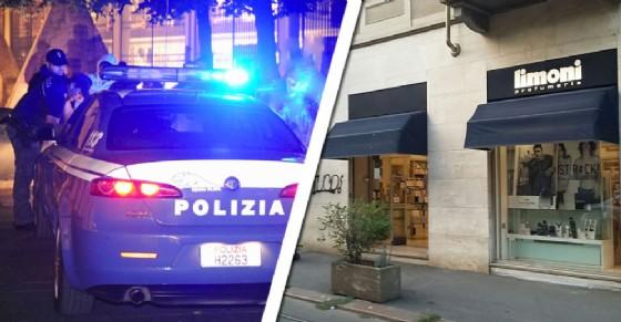 Il furto è avvenuto alla «Profumeria Limoni» (© Diario di Torino)