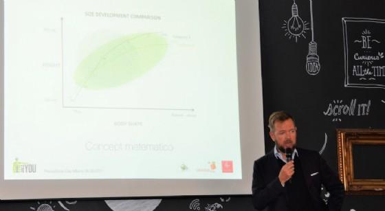 Alessandro Canepa, CEO di i-Deal durante la presentazione