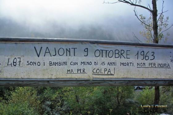 9 ottobre 1963: 54 anni dopo Mauro Corona lancia #oltreladiga (© Plozner)